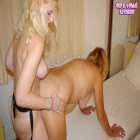 This mature slut loves her lesbian teeny