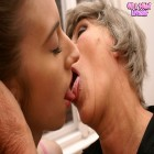 Granny wants to taste a hot young fanny