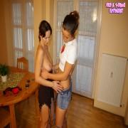 Kinky lesbian MILF doing the girl next door