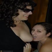 Big mature slut doing a horny lesbian