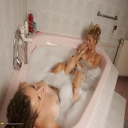 Two babes doing a mature lesbian