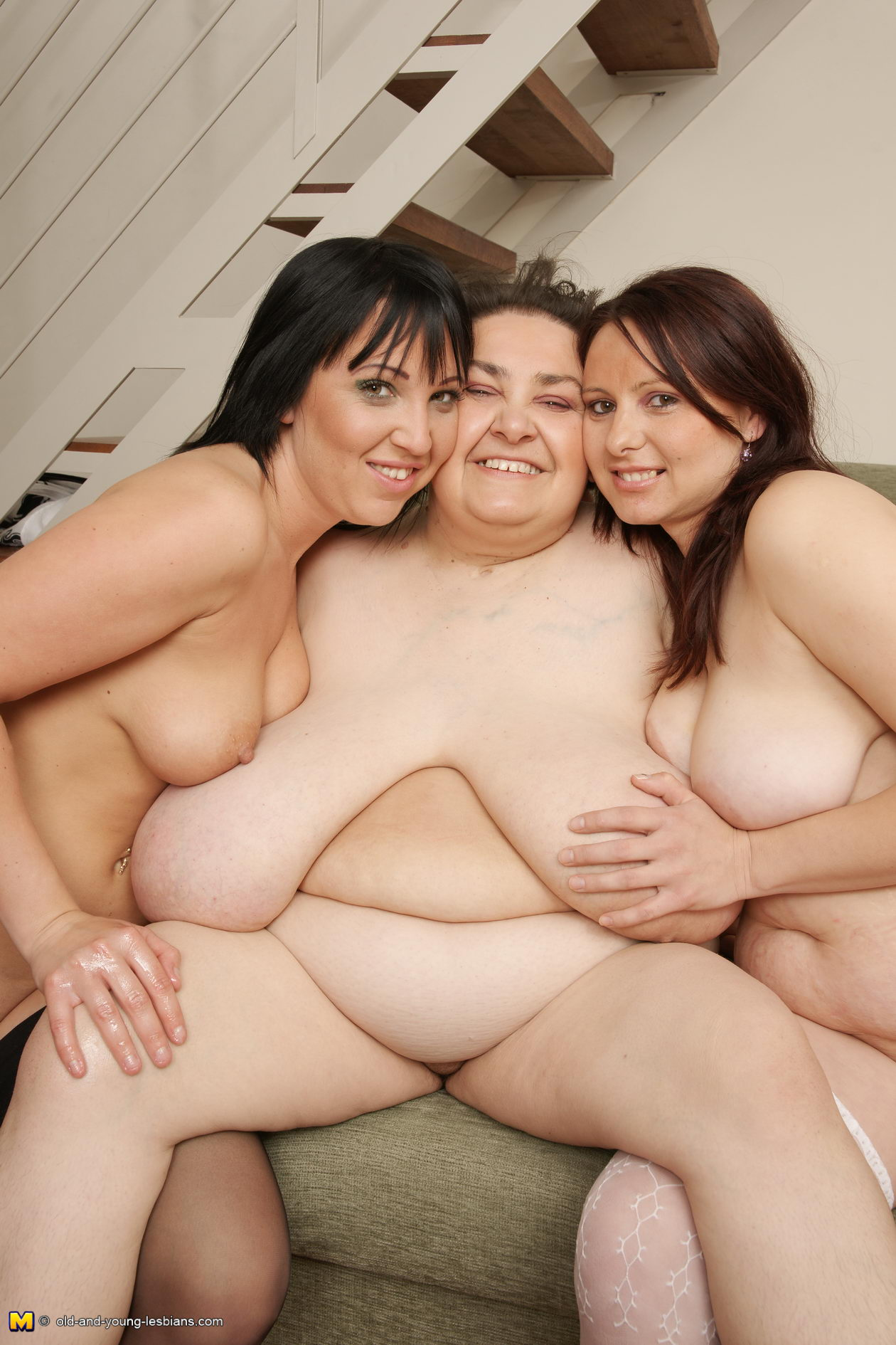 image Three mature lesbians have some serious fun
