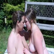 Chubby babe doing a naughty British lesbian BBW